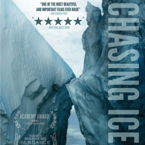 Image of an iceberg that is the cover of the documentary Chasing Ice. It links to the documentary's web page
