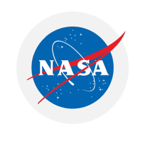 NASA logo linking to their website