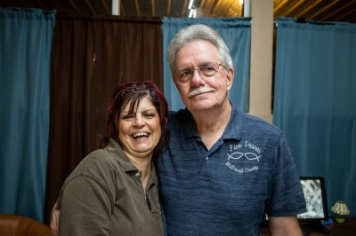Bob and Linda McKinney, the owners of the Five Loaves and Two Fishes food pantry in McDowell County, West Virginia.