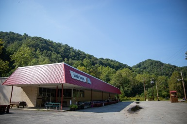 Five Loaves and Two Fishes food bank in McDowell County, West Virginia.