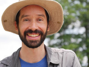 "Mark Dixon is a filmmaker, photographer, and public speaker. Mark spoke with us about the importance of setting one's moral compass before jumping into climate action. He also shared with us his thoughts on biomimicry and the ""genius of the natural world."""