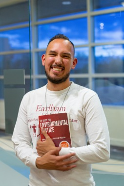 Antonio Maestas grew up in Albuquerque and recently moved back after graduating college. He works for an organization called Juntos as a community organizer and environmental justice advocate.
