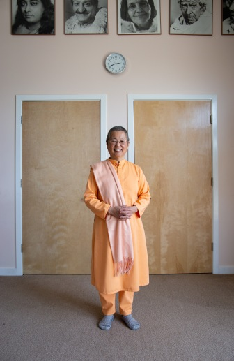 Swami Dayananda is a monk at Yogaville Ashram in Buckingham County. She has been very involved in the pipeline resistance with Friends of Buckingham.