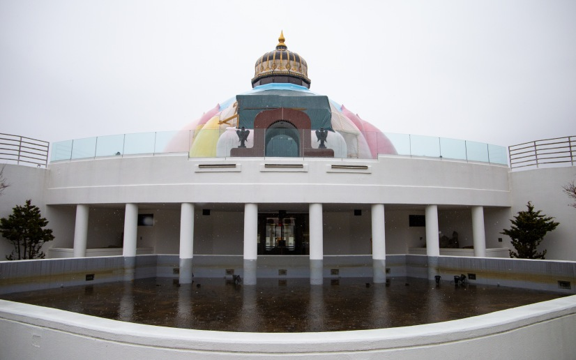 The LOTUS temple was built in 1986 as a tribute to all the different world religions. The residents at Yogaville believe that all religions share a common truth and welcome people of all faiths to the retreat center.