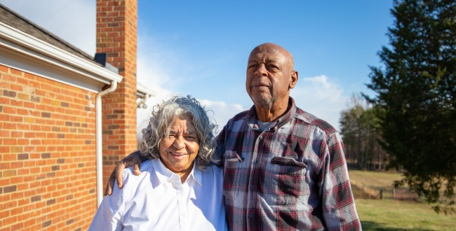 John and Ruby Laury are homeowners in the Union Hill area and are in opposition to the Atlantic Coast Pipeline. They have been attending all of the hearings and public forums on the pipeline for the past four years and speaking out.