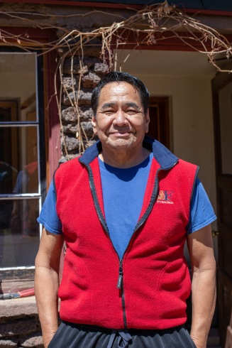 This is Robb Redsteer, our wonderful guide while we were traveling around Navajo Nation. Robb helped set up many of our interviews and orient us to the places we were visiting. He also spoke with us about some of the ways Navajo people are discriminated against in the healthcare system.