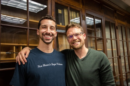 Zander Pellegrino (left) and Paul Rink (right) are both graduate students at F&ES. We spoke with them about climate response, or lack thereof, in both the Christian church and the United States' government.