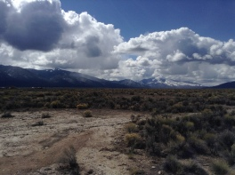 A view of Ute mountain from our weekend trip to Taos, New Mexico.